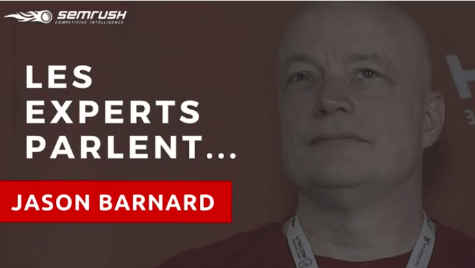 Jason Barnard SEMrush