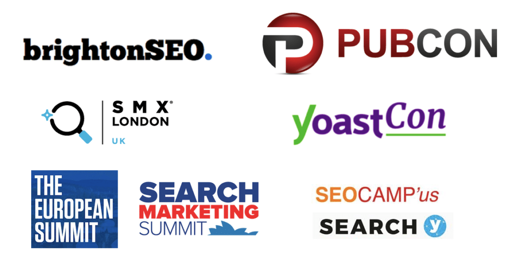 Digital Marketing Conference logos