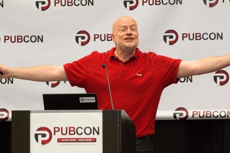 Jason Barnard Speaking at Pubcon Las Vegas 2019