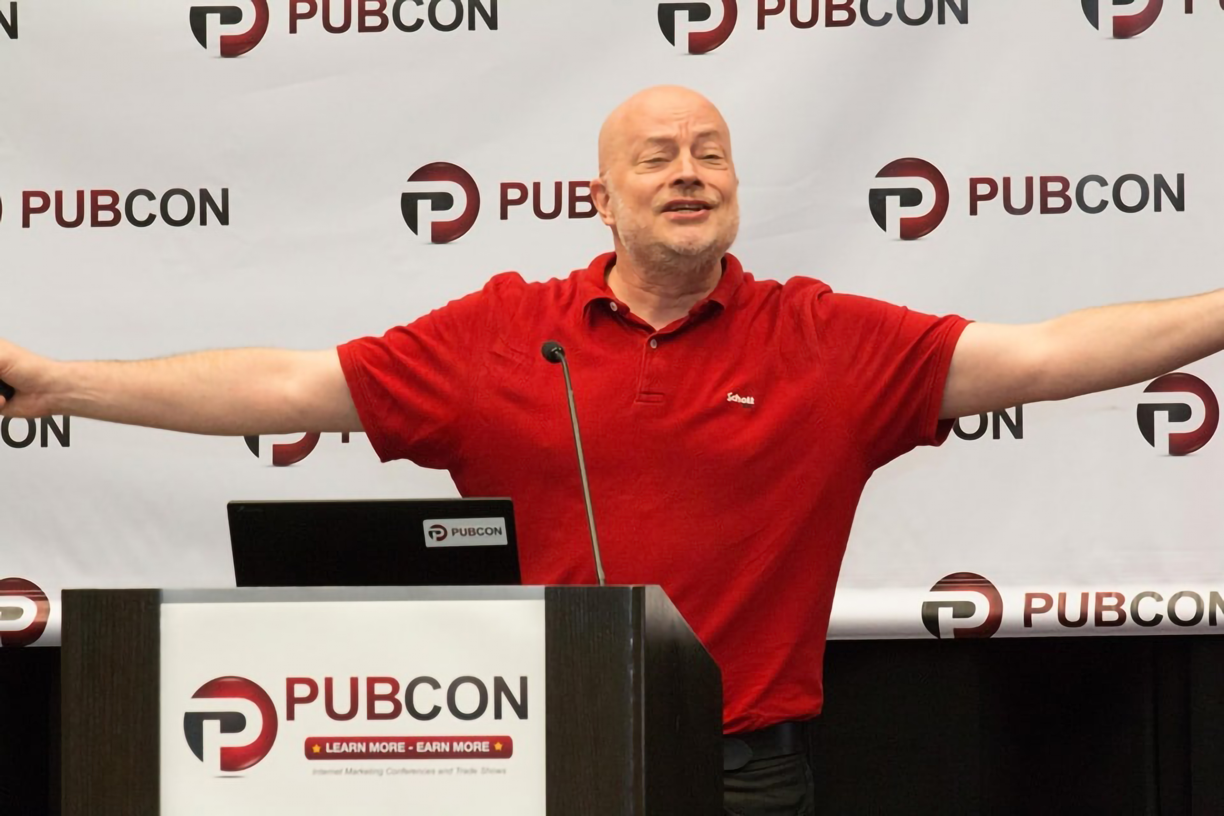 Jason Barnard Speaking at Pubcon Las Vegas 2019