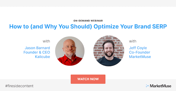 How to (and Why You Should) Optimize Your Brand SERP (Webinar Highlights)