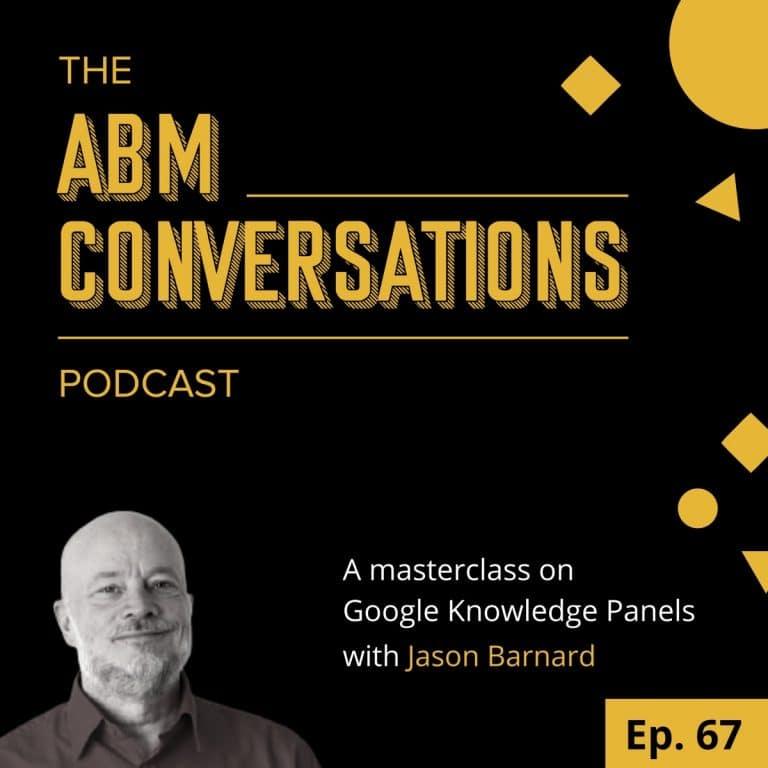 Jason Barnard: Masterclass on Google Knowledge Panels