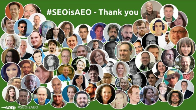 #SEOisAEO – Epic Digital Marketing Webinar series