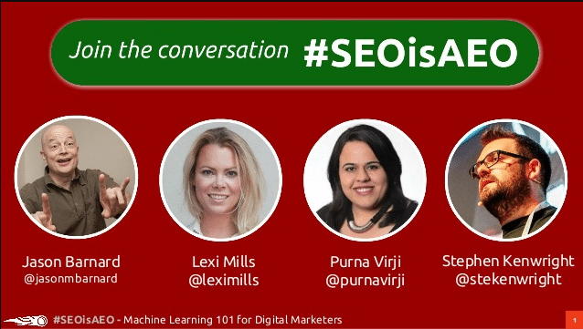 #SEOisAEO: Machine Learning 101: The how, the why and … what ML means to us as marketers